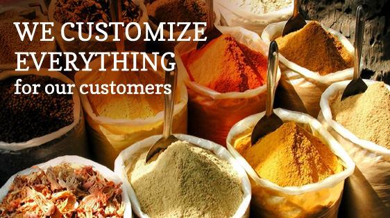 Customer Solutions - We customize everything for our customers